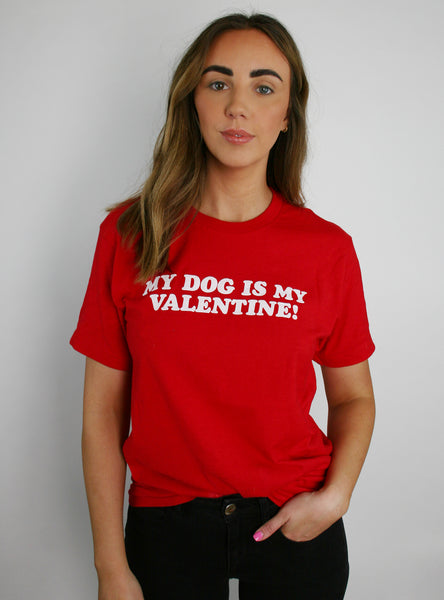 My Valentine Matching T-Shirt Set