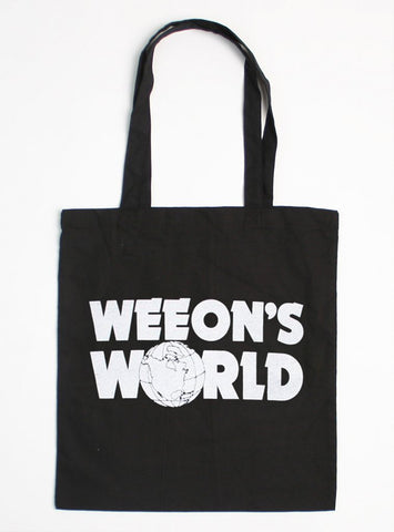 WEEON'S WORLD TOTE BAG
