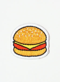 Mini Burger Time Patch