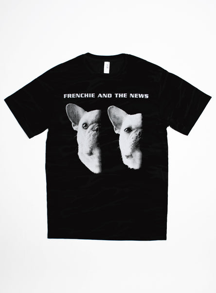 FRENCHIE AND THE NEWS TEE