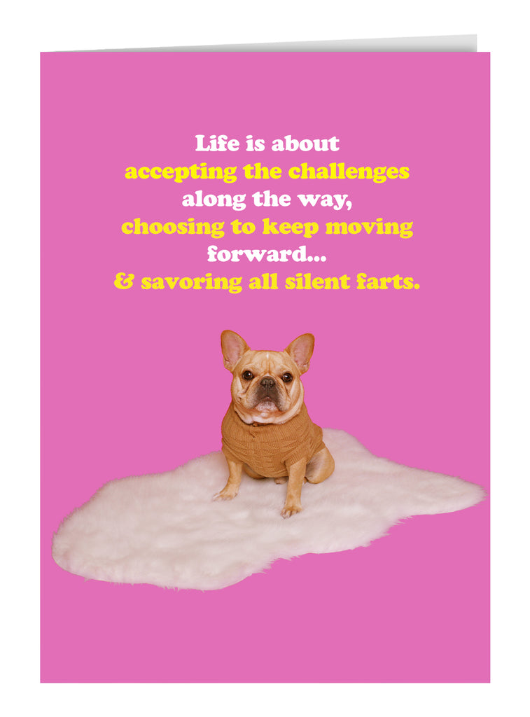 Life Is About... Greeting Card