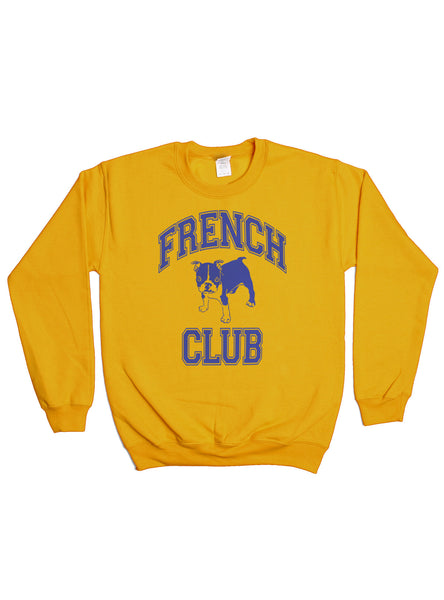 FRENCH CLUB PULLOVER