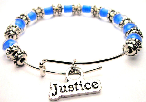 justice bracelet, justice bangles, justice jewelry, law jewelry, statement jewelry