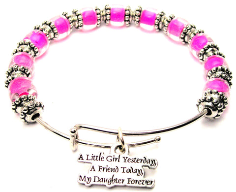 daughter bracelet, I love my daughter bracelet, daughter jewelry, daughter bangles