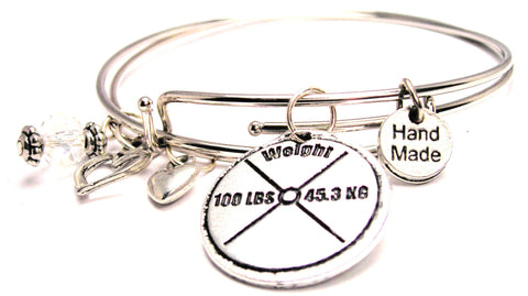 100 Lb Weight Expandable Bangle Bracelet Set