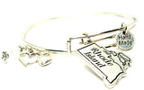 Rhode Island Expandable Bangle Bracelet Set