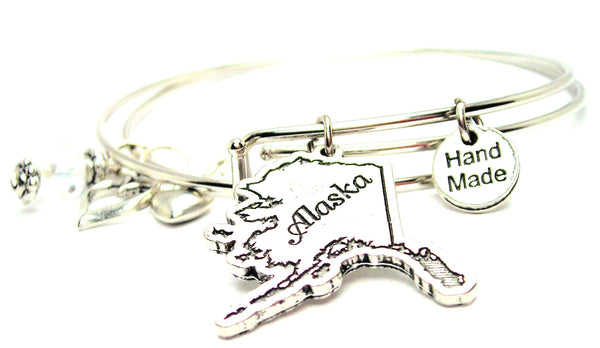 Alaska Expandable Bangle Bracelet Set