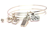 Big Ben Expandable Bangle Bracelet Set