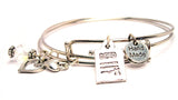 Deed Expandable Bangle Bracelet Set