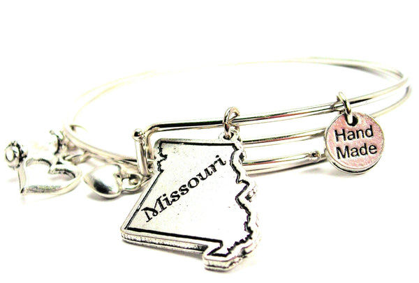 Missouri Expandable Bangle Bracelet Set