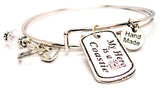 My Hero Is A Coastie Expandable Bangle Bracelet Set