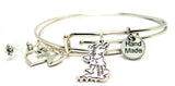 United Kingdom Expandable Bangle Bracelet Set
