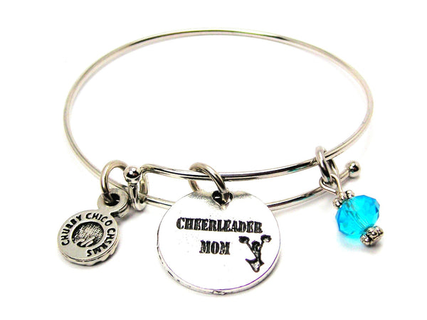 Cheerleader Mom Bangle Bracelet