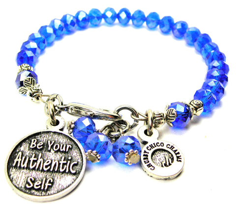 Be Your Authentic Self Splash Of Color Crystal Bracelet