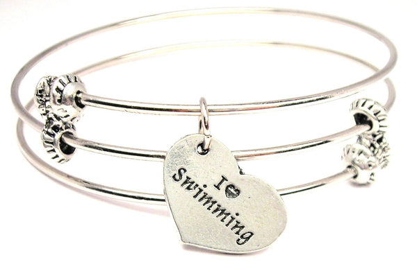 Swim Team Bangles, Swim Team Bracelets, Swim Team Jewelry, Style_Sports Bangles, Style_Sports Bracelets, Style_Sports Jewelry