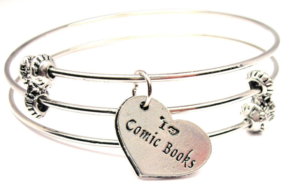 comic book lover bracelet, comic book bracelet, comic book jewelry, comic collector jewelry, hobby jewelry, hobbies jewelry
