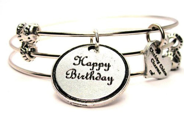 birthday bracelet, birthday jewelry, happy birthday bracelet, birthstone bracelet, happy birthday jewelry