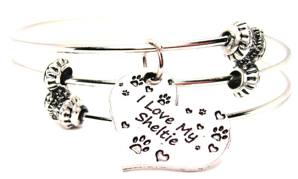 sheltie bracelet, sheltie jewelry, animal rescue jewelry, animal adoption jewelry, dog Style_Lover bracelet, dog Style_Lover jewelry