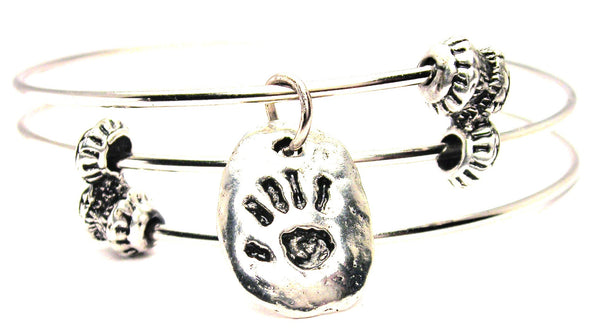 Cave Print Triple Style Expandable Bangle Bracelet