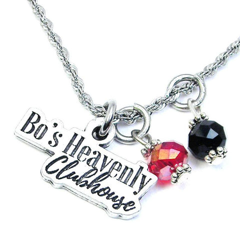 Bo's Heavenly Clubhouse Girl's Rope Necklace