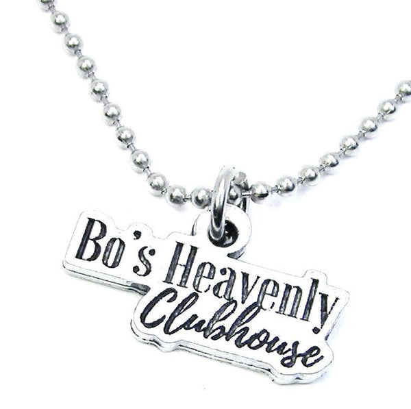 Bo's Heavenly Clubhouse Unisex Necklace