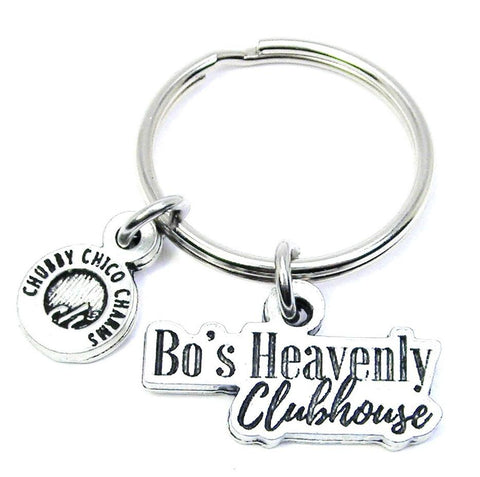 Bo's Heavenly Clubhouse Key Chain