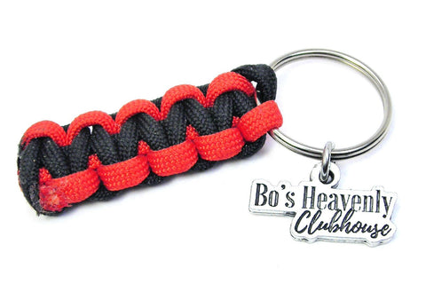 Bo's Heavenly Clubhouse Paracord Key Chain