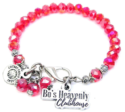 Bo's Heavenly Clubhouse Crystal Bracelet