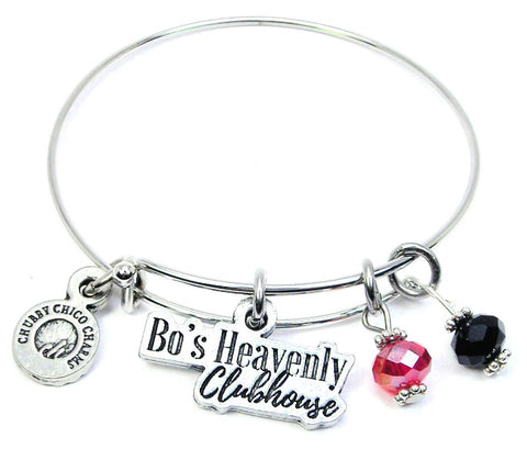 Bo's Heavenly Clubhouse Bangle Bracelet