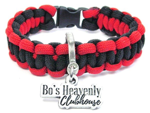 Bo's Heavenly Clubhouse Paracord Bracelet