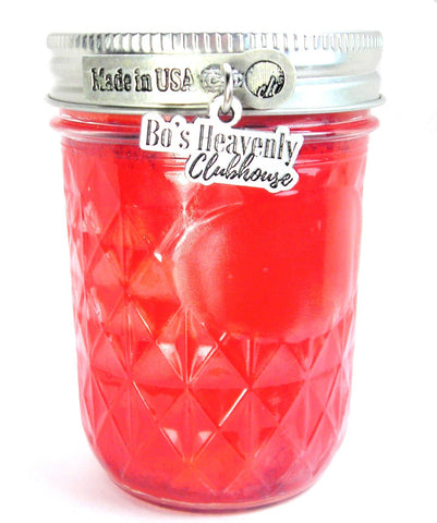 Bo's Heavenly Clubhouse 8oz Glass Jar Candle