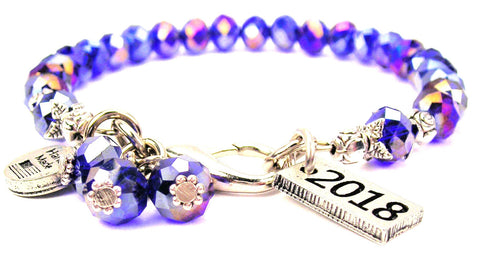 2018 Splash Of Color Crystal Bracelet