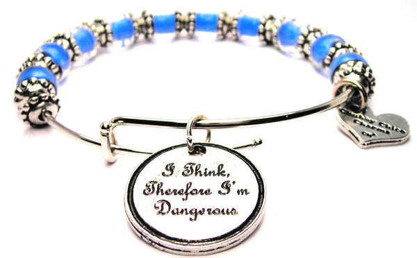expression jewelry, expression bangle, expression statement jewelery, danger bracelet