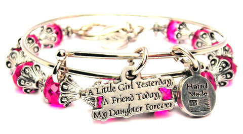 A Little Girl Yesterday My Friend Today My Daughter Forever 2 Piece Collection