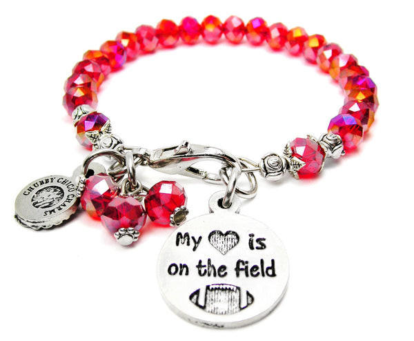 My Heart Is On The Field Catalog Splash Of Color - Red