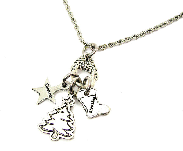 Christmas Tree Catalog Necklace