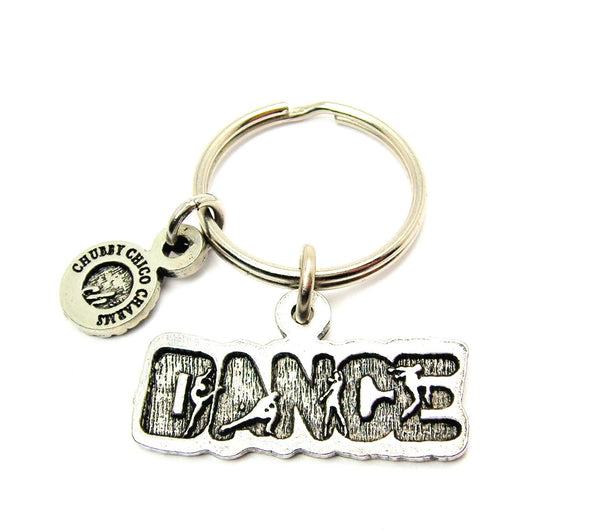 Dance With Dancers Catalog Key Chain
