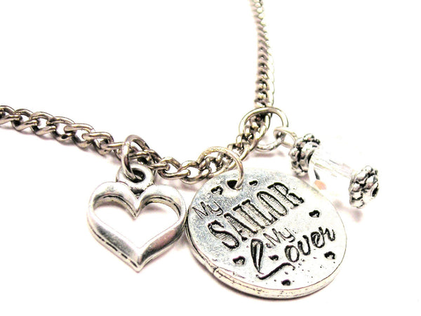 My Sailor My Style_Lover Necklace with Small Heart