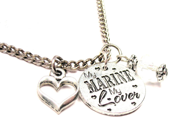 My Marine My Style_Lover Necklace with Small Heart