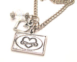 Infinite Style_Love Heart Necklace with Small Heart