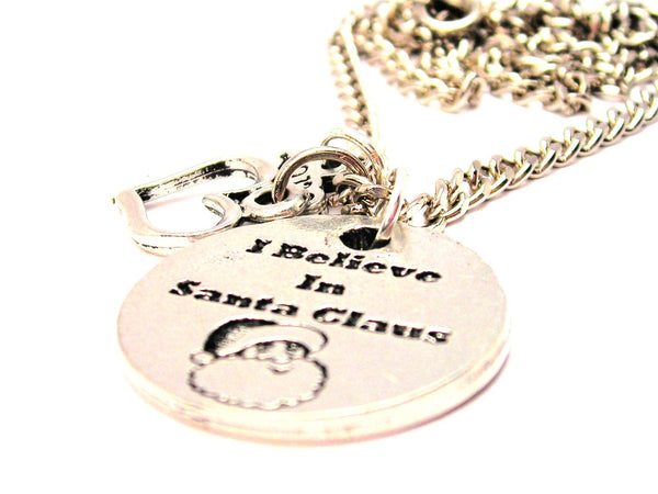 I Believe In Santa Claus Little Love Necklace