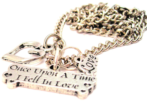 Once Upon A Time I Fell In Love Little Love Necklace