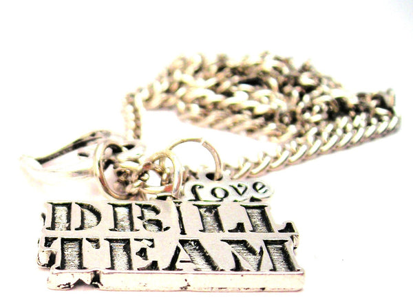 Drill Team Little Love Necklace