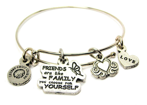FRIENDS ARE THE FAMILY YOU CHOOSE FOR YOURSELF CATALOG SINGLE STACKER