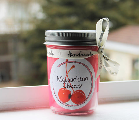 Maraschino Cherry Scented Soy Candle