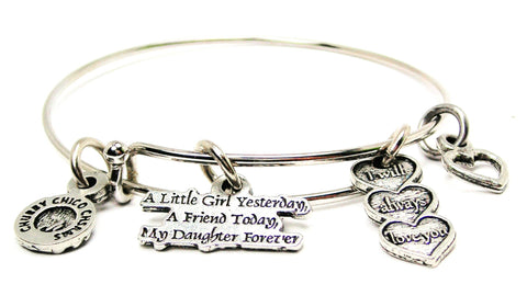 A Little Girl Yesterday A Friend Today My Daughter Forever Catalog Single Stacker