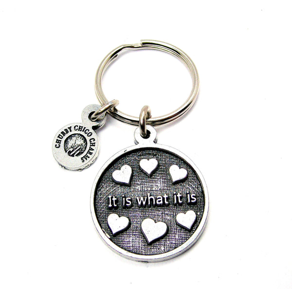 It Is What It Is Catalog Keychain