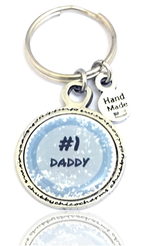 Style_Love Key Chains,  Family Key Chains,  Best Daddy Key Chain,  Saying Key Chains,  Men's Gift
