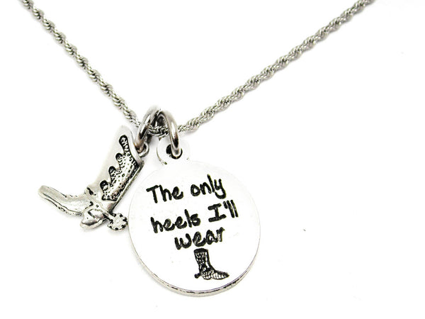 The Only Heels I'll Wear Catalog Necklace