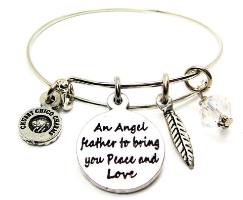 An Angel Feather To Bring You Peace And Love Catalog Single Stacker